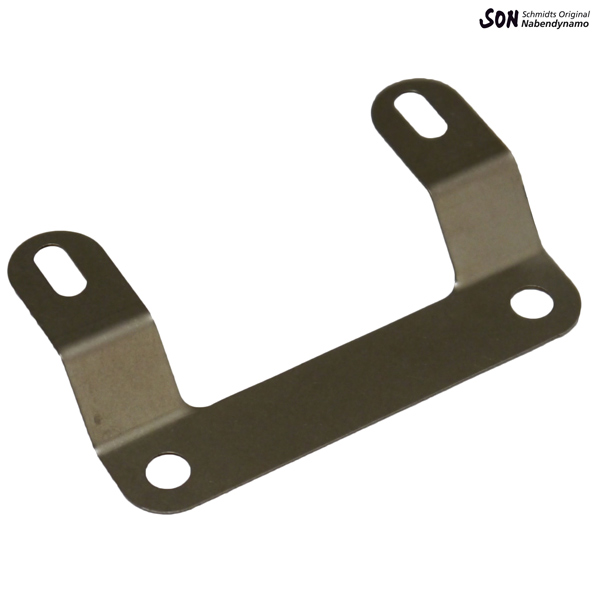 Adapter of stepped sheet metal for rack mount for B + M reflector 313/3Z