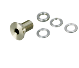 Long mounting bolt and Distancing washers (8255+8256)